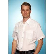 Ely Cattleman Mens Short Sleeve Solid Western Shirt 15201605 89