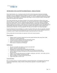 Brilliant Ideas Of Sample Cover Letter For Software Engineer Entry