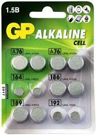 """<b>Набор алкалиновых</b> дисковых <b>батареек</b> """"GP <b>Batteries</b>"""", ACM01 ..."""