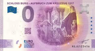 Mai 2019 in allen 19 mitgliedstaaten des euroraums in den umlauf gebracht. Schloss Burg Prasentiert Neuen 0 Euroschein Das Solingenmagazin