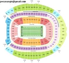 Bryant Denny Stadium Seating Chart Bama Stadium Seating Chart