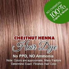 chestnut henna hair color 100 organic and chemical free intl