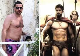 gerard butler antes y después