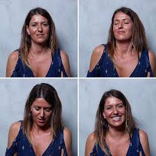 Photo woman face during orgasm