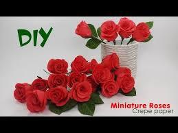 Rose Paper Flower Making Paper Flower Making Youtube