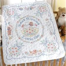 Stamped Cross Stitch Baby Quilts Patterns Kits Quilt Blocks ... & stamped cross stitch baby quilts patterns kits quilt blocks bedrooms Adamdwight.com