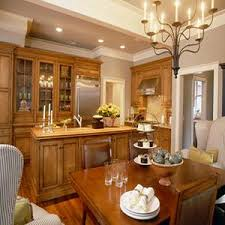 Plain Maple Kitchen Cabinets And Wall Color N On Concept Ideas