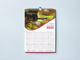 Calendar Design Calendar Design 2020 Corporate Identity Template