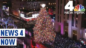 Nbc Christmas Lighting What To Know About The Rockefeller Center Christmas Tree Lighting News 4 Now