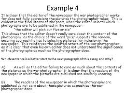 war photographer rdquo isolation cel ppt 6 example