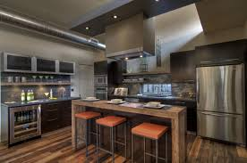 Design Ideas Industrial Kitchen With Vintage Lighting Key Traits