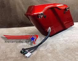 installing american hard bag saddlebag amplifier wire harness