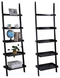 costway versatile 5 tier bookshelf