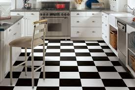 black and white vinyl flooring