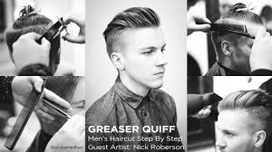 the quiff men s haircut step by step