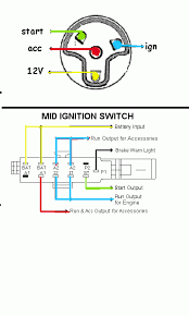 ford ignition wiring diagram help wiring up push start button and ign switch ford truck i changed a few things