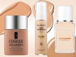 the 4 best foundations for acne e skin according to dermatologists acnescars