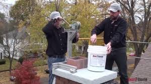heatshield chimney flue liner repair system