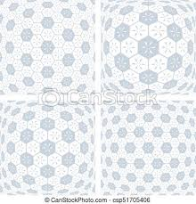 3d Patterns Delectable 48d Hexagons Patterns Abstract Geometric Backgrounds Set Vector Art