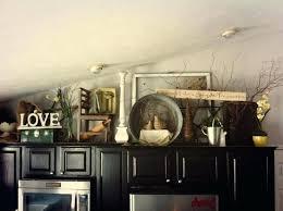 Above Kitchen Cabinet Decorations Cool Design Ideas
