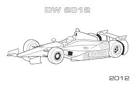 A Site For Car Racing And Motorsport Coloring Pages Race Car