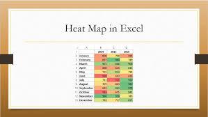 Heat Map Chart Through Radio Button In Excel Nurture Tech Academy