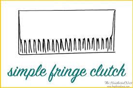 a diy clutch from a chindi rag rug tutorial super budget friendly and