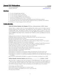 Quality Control Manager Resume Samples Sample Software Assurance Qa