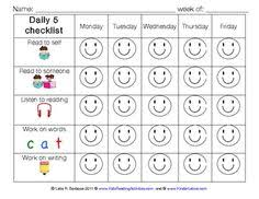 15 Best Self Monitoring Sheets For Students Images Self