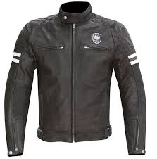 merlin hixon men s leather jacket black
