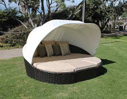 Outdoor Canopy Bed Round