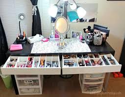 desk makeup desk organizer bright bedroom divine make up desk ideas with vanity mirrored desk makeup desk organizer acrylic desk organizer set 10