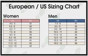 Us Vs Eu Size Chart Bedowntowndaytona Com