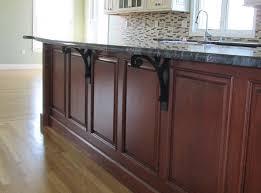 decorative countertop support brackets