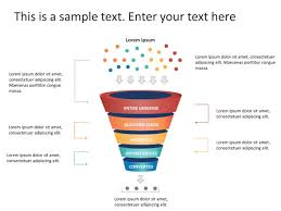 Powerpoint Funnel Chart Template 5 Steps Sales Funnel Diagram Powerpoint Template Funnel