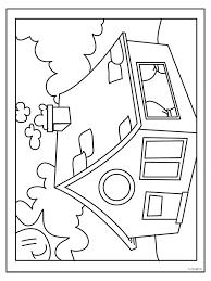 Kleurplaat Huis Kleurplatennl