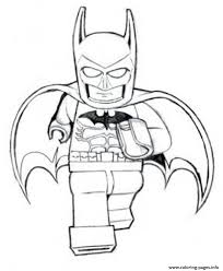 Small Picture Print batman lego is running movie coloring pages kids crafts