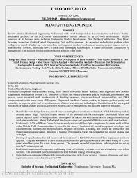 Manufacturing Engineering Sample Resume Manufacturing Engineer Resume Sample Resume Samples 10