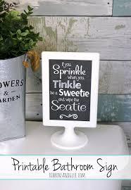 printable bathroom sign. Printable Bathroom Sign