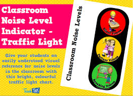 Traffic Light Chart Behaviour Classroom Noise Level Indicator Traffic Light Teacher