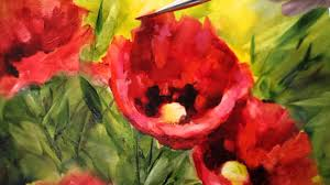 how to paint brilliant poppies in oils nancy na art s and cl you