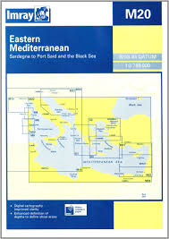 Imray Charts Mediterranean Eastern Mediterranean Chart M20 Imray M Chart Imray