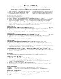 Chemistry Resume Excellent Chemistry Resume Skills Gallery Entry Level Resume 4