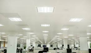 small led panel light great lighting effectiveness real green led office lighting fixtures