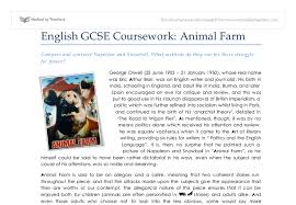 animal farm compare and contrast napoleon and snowball what  document image preview