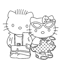 Free printable hello kitty coloring pages. Top 75 Free Printable Hello Kitty Coloring Pages Online