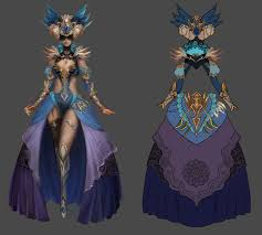 Guild Wars Dye Chart Guild Wars 2 Concept Art For A Female Shining Blade The