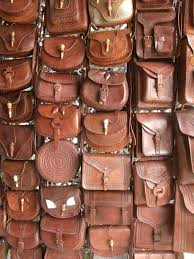 carbed and embossed chiapas leather bag