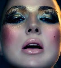 disco ish makeup