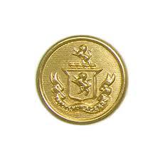 Metal Crest Design Buttonmode Lion Crest Design Blazer Buttons 12pc Set Includes 4 Jacket Front Buttons X 19mm 3 4 Inch 8 Jacket Sleeve Buttons X 15mm 5 8 Inch